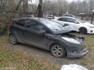 Форд Фиеста 1.6 МТ, 2012 года