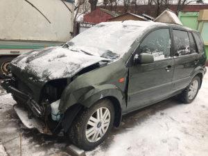 Выкупленный авто после ДТП (Форд Фьюжн)